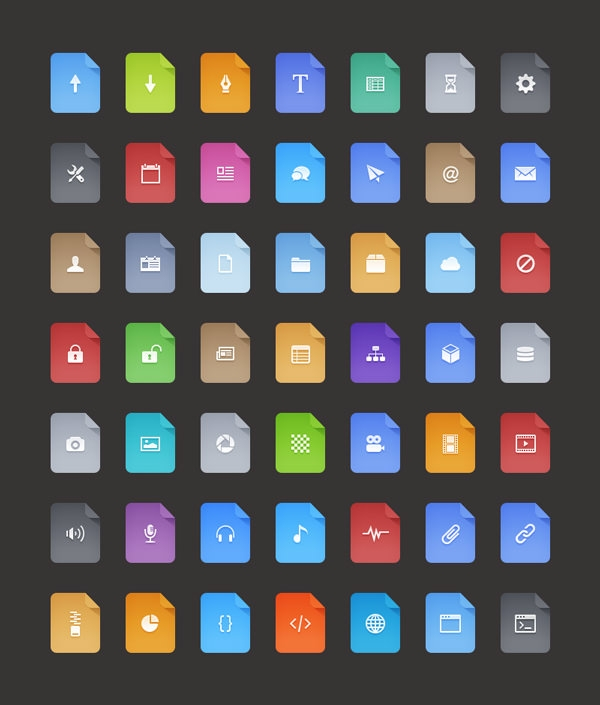 Free-Flat-Filetype-Icons