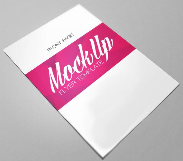 free psd flyer mockup template1