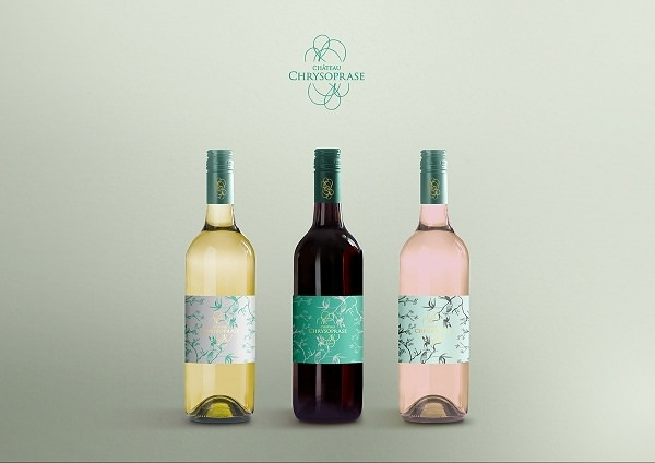 Free PSD Wine Bottle Mockup with Photorealistic Effect