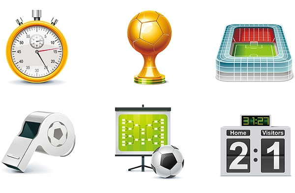 Psd sports icons