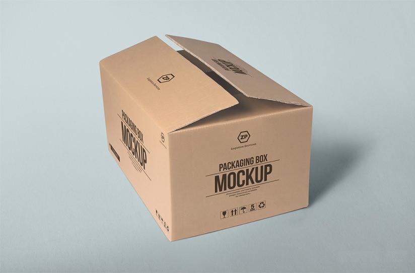 32 package box mockups freecreatives