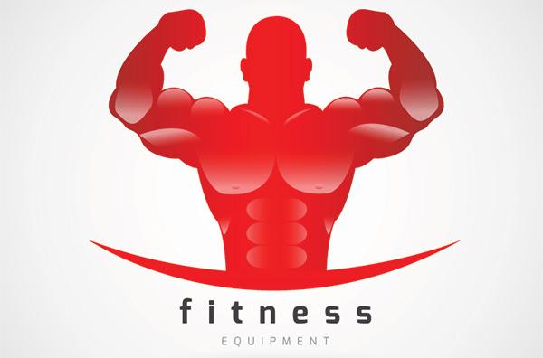 power gym fitness logo