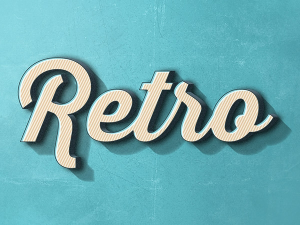 Retro-Text-Effect
