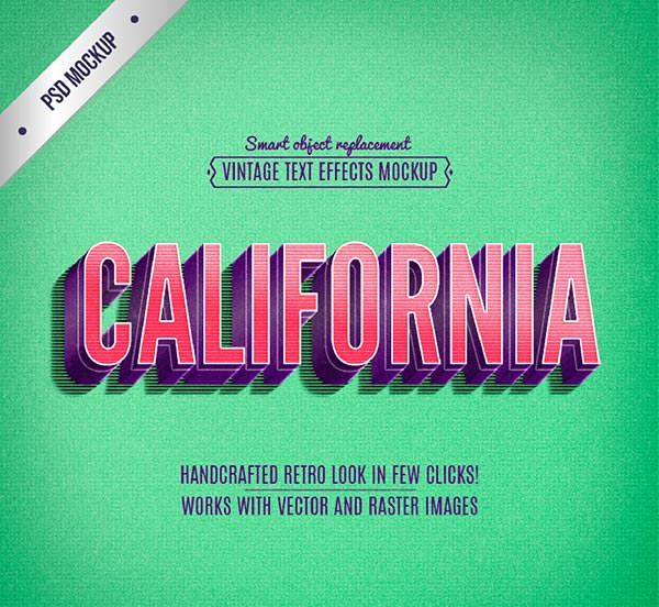 Retro-california-lettering