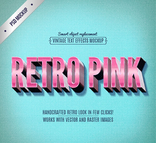 Retro-pink-lettering