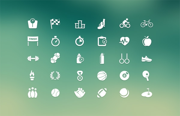 Sports-Icons-Free-PSD