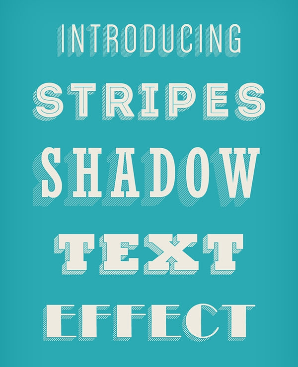 Stripes-Shadow-Text-Effect