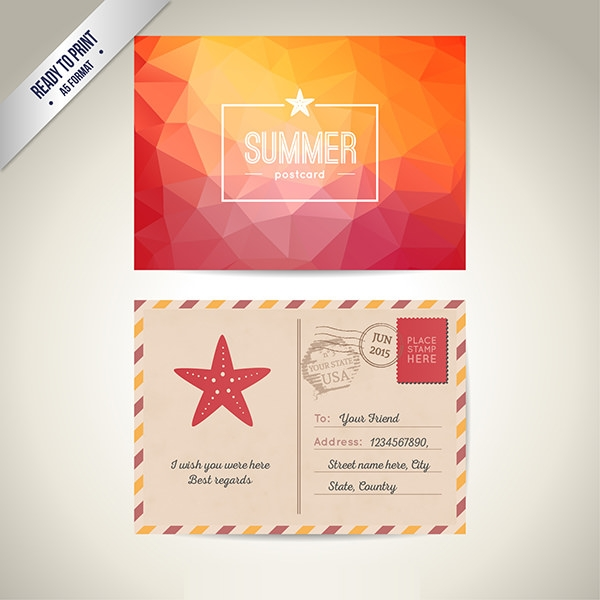 18   free psd postcard mockups in word  ai  publisher