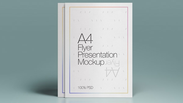 Free 23 Psd Flyer Mockups In Psd Indesign Ai