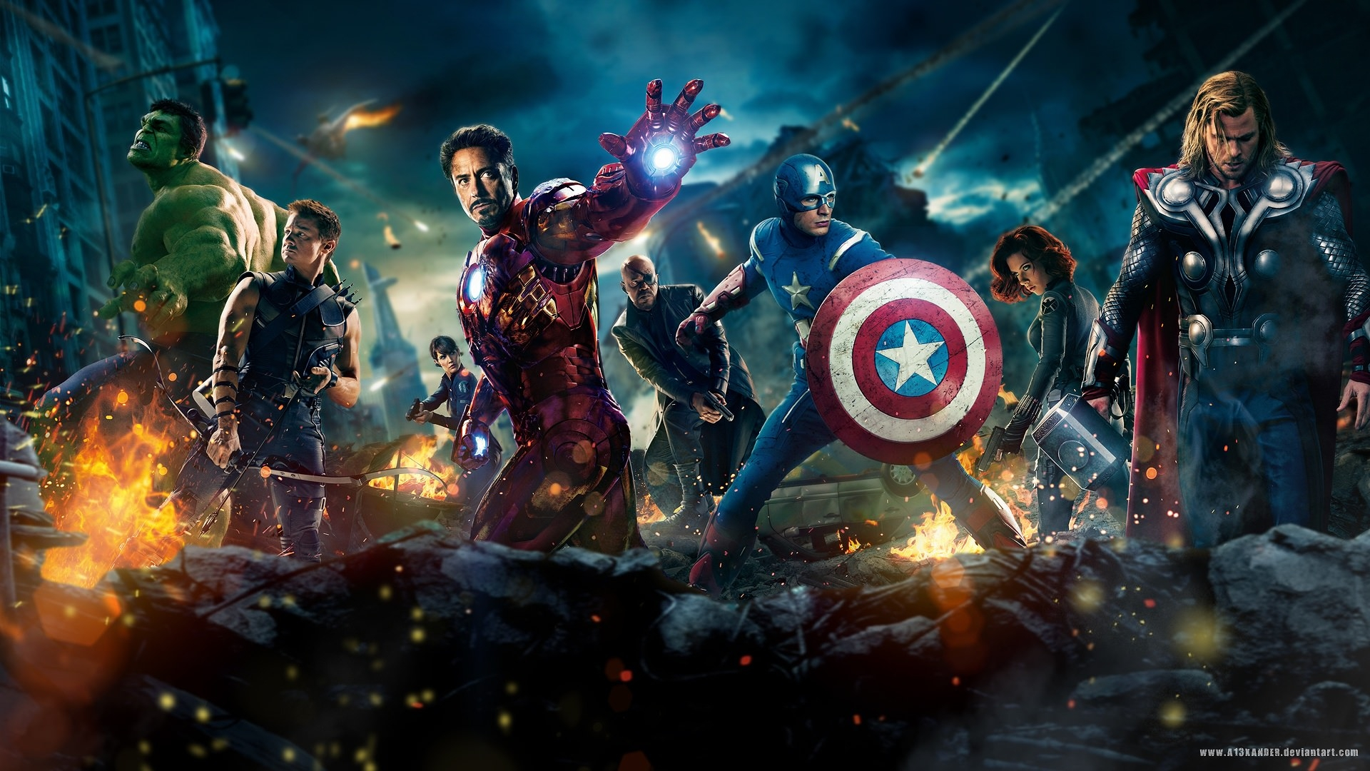 15 best hd superhero movie wallpapersfreecreatives avengers wallpapers voltagebd Choice Image