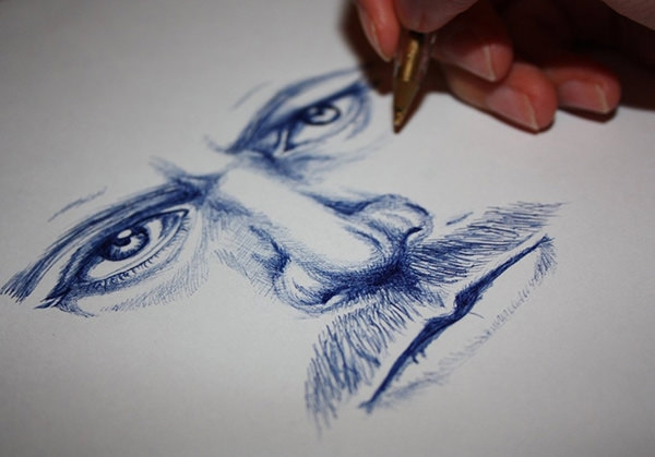 ballpoint-pen-drawing-for-beginners