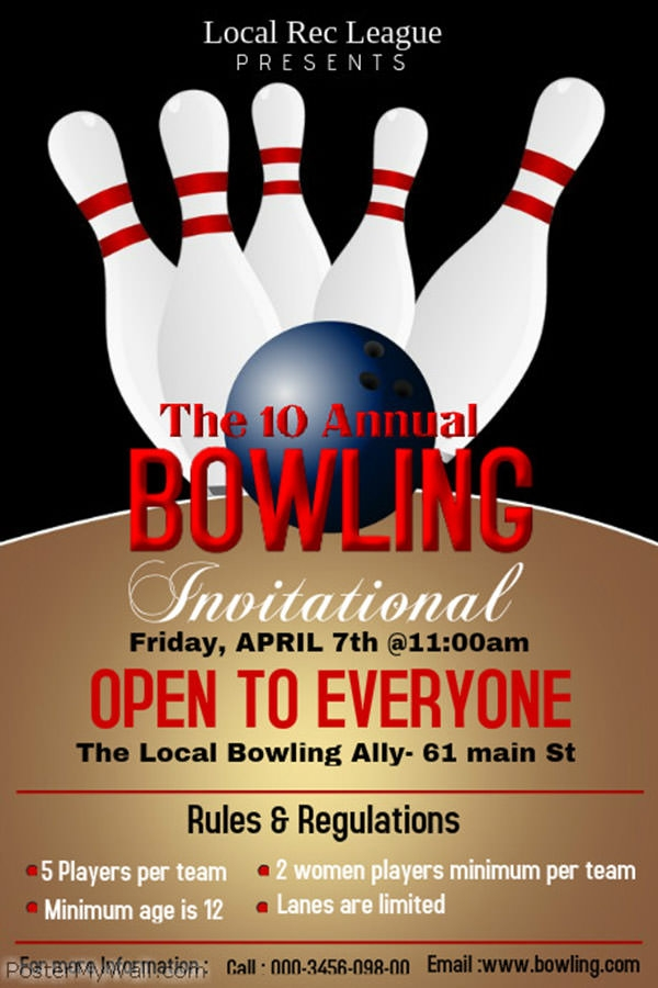 bowling-poster
