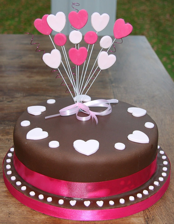 Chocolate Birthday Celebration Cake Design