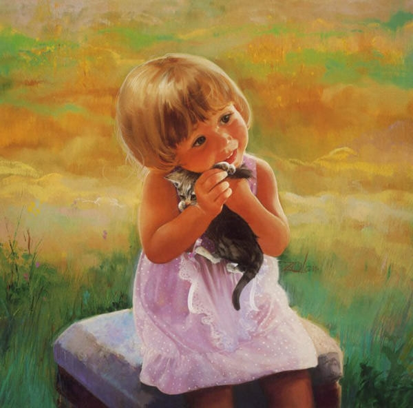 cute-baby-painting-