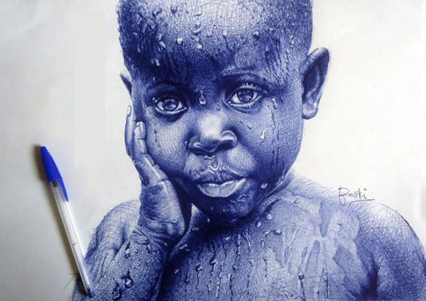 cute-boy-ballpoint-pen-drawings