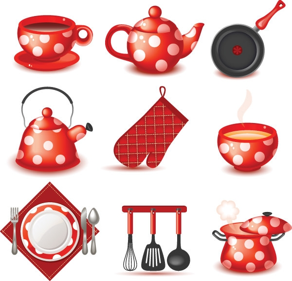 cute-utensils-vector-collections