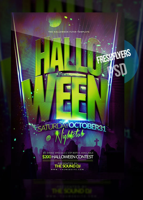 free-halloween-bash-flyer-design