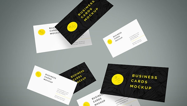 40 free psd business card mockups img presenting your business cards reheart Image collections