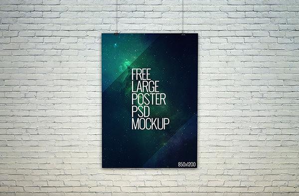 free-psd-large-poster-mockup