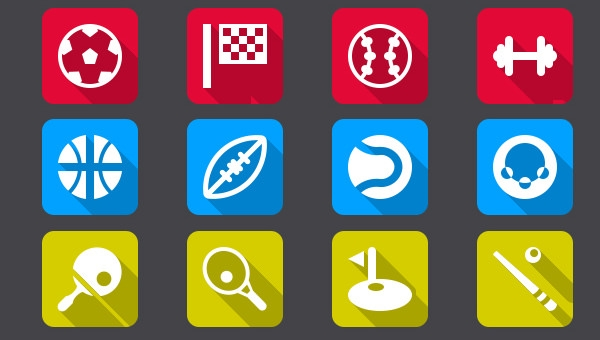 290+ Free PSD Sports Icons