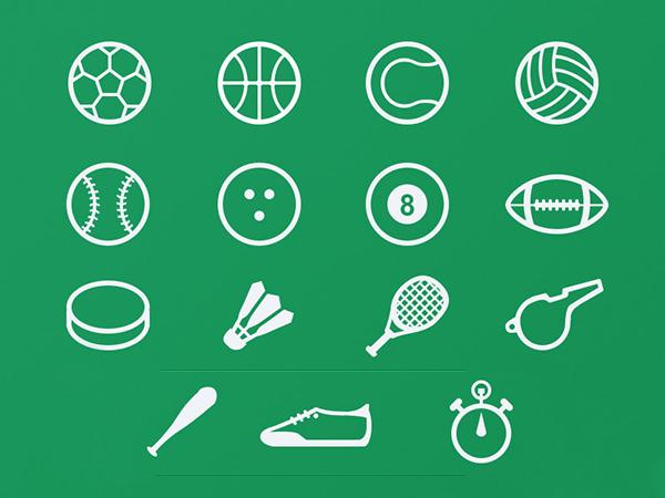 free-sport-icon-set