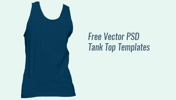 10 Tank Top Mockup Designs Apparel Freecreatives