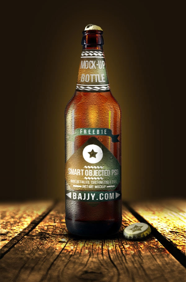fresh-beer-bottle-mockup