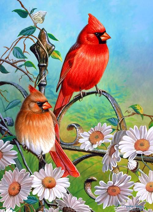 love-birds-painting