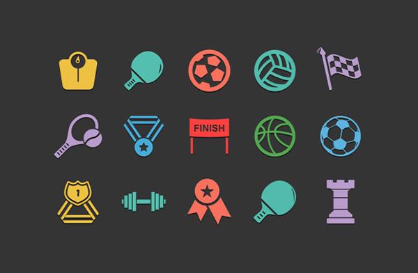 sports-icon set
