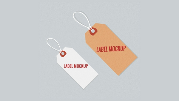 tag label free psd