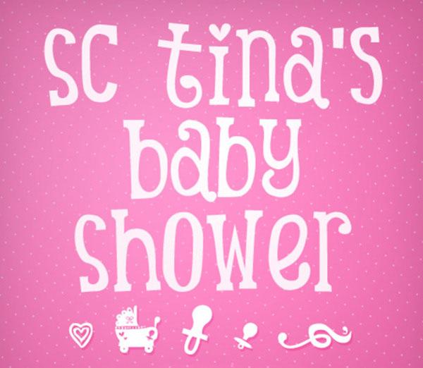 Superb Free Baby Shower Font