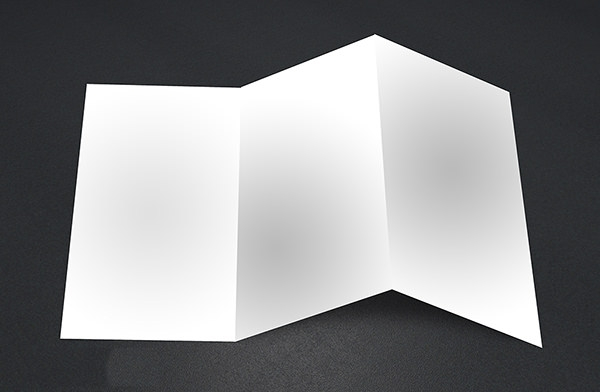 14 Blank Tri Folder Brochures Psd Vector Eps Jpg