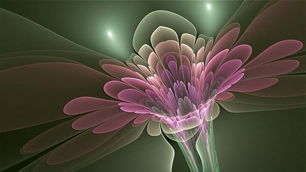 trumpet_flower_fractal-wallpaper
