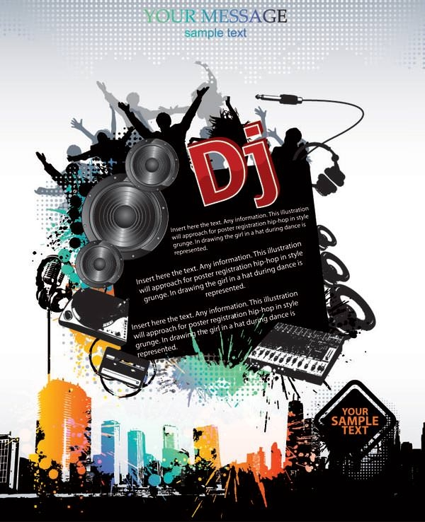 vector_trend_of_music_posters