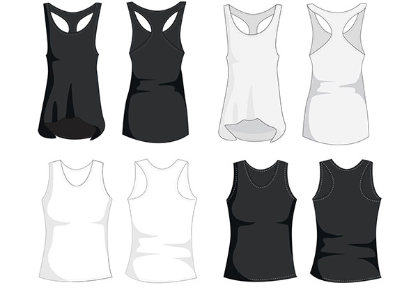Sleeveless Workout Shirts Womens