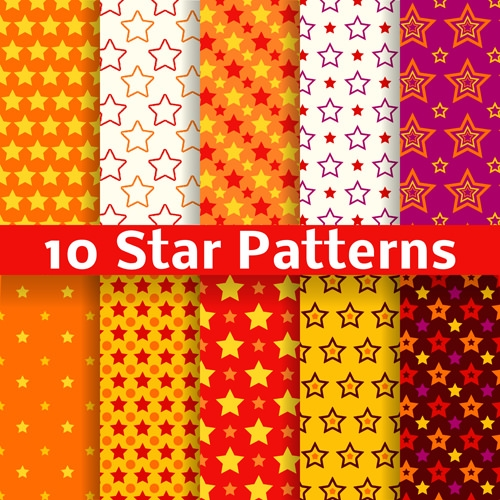 10 creative star patterns