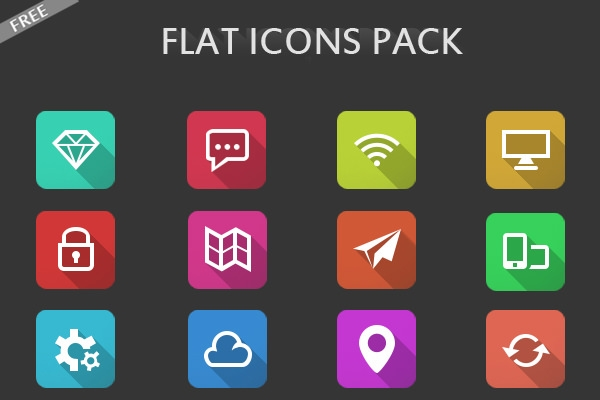 12-Flat-Long-Shadow-Icons-PSD