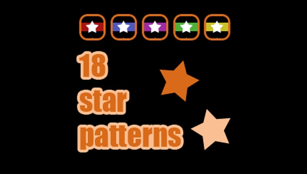 18-star-patterns