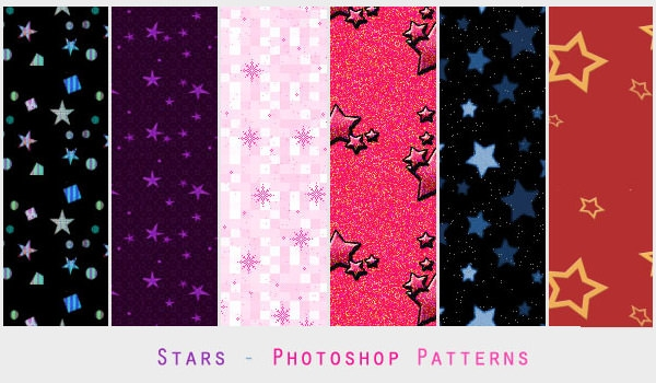 6-Star-Photoshop-Patterns