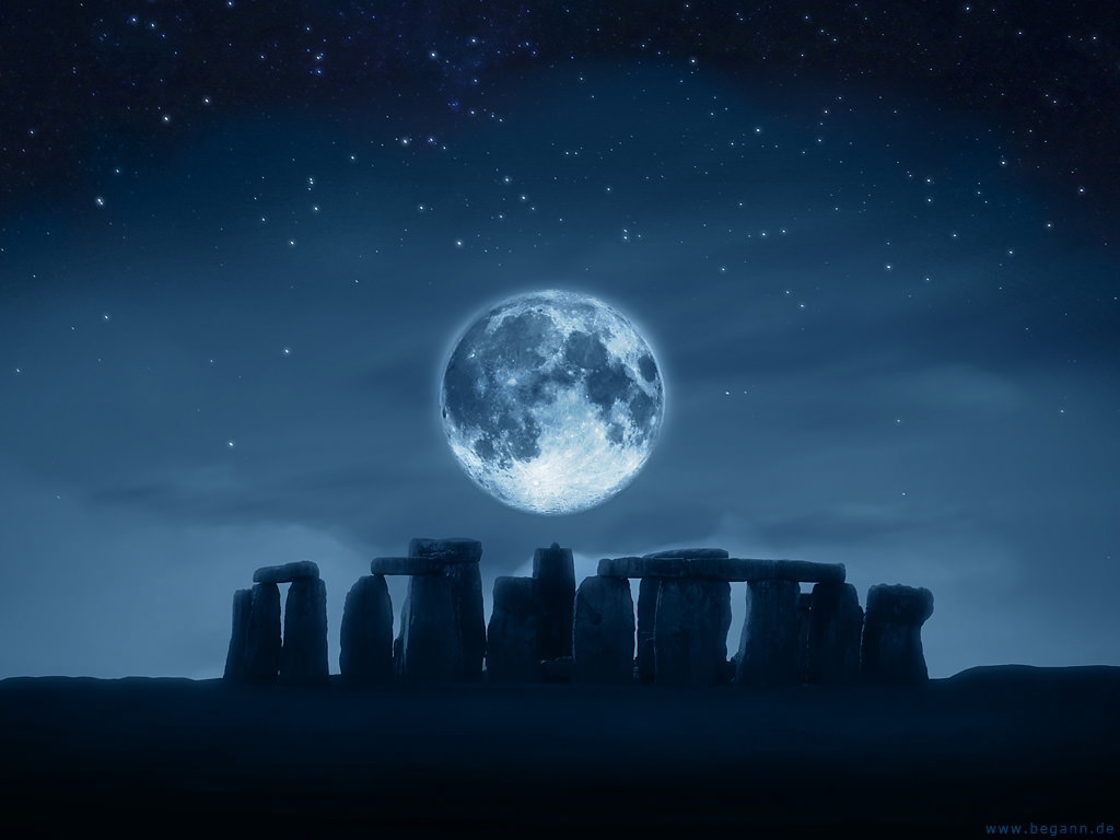 20 best moon desktop wallpapers freecreatives - Wiccan screensavers ...