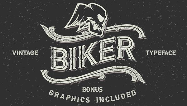 Biker-vintage_font
