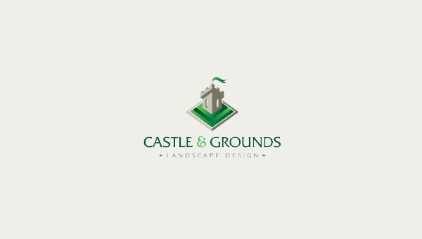 Castle-and-Grounds-Logo-Designs