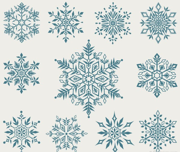 snow vector pattern-#39