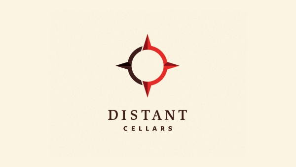 distant cellars logo designs