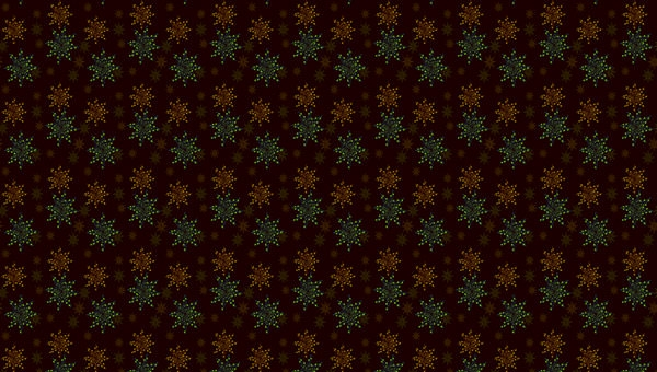 Dotted-Star-Pattern