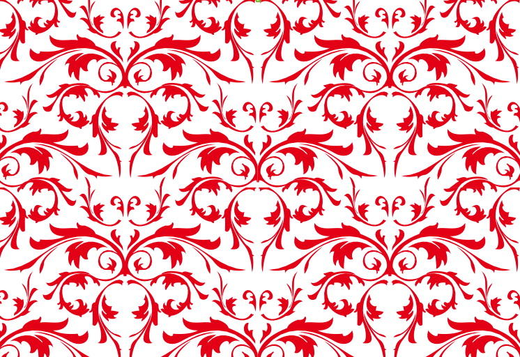 Free Simple Seamless Red Floral Pattern