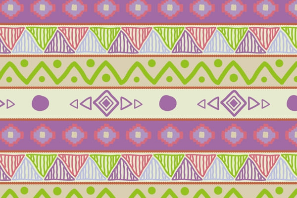 Hand-drawn-tribal-pattern