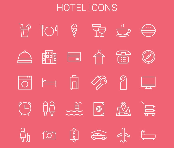 HotelOutlineIcons