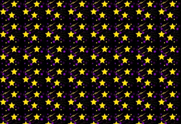 Multi-Coloured-Star-Patterns-