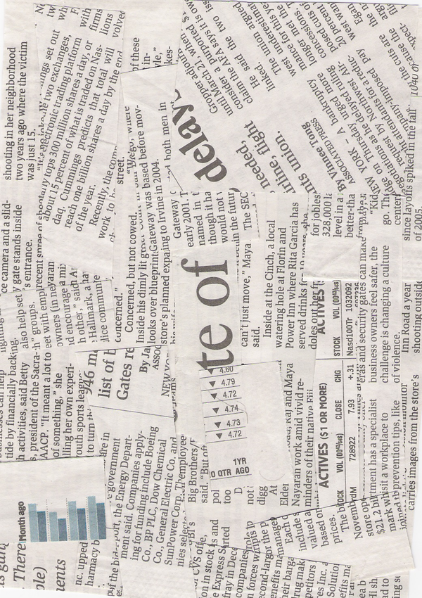 Newspaper Textures for Photoshop